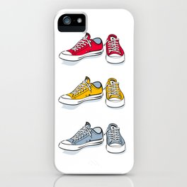 Red Sneakers iPhone Case