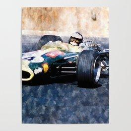 Jim Clark, Lotus Poster