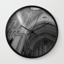 Grace Cathedral Sun Beam Wall Clock
