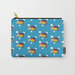 Lucha Libre Pug Carry-All Pouch