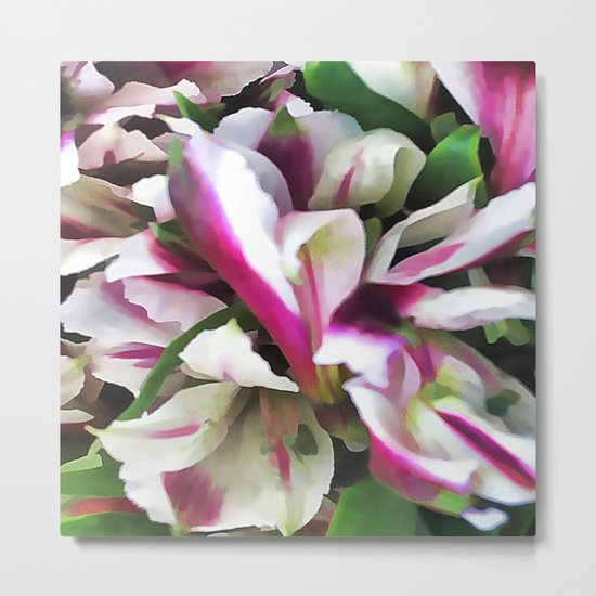 Soft and Lovely Metal Print