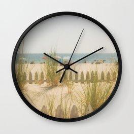 Sand Dunes Summer Wall Clock
