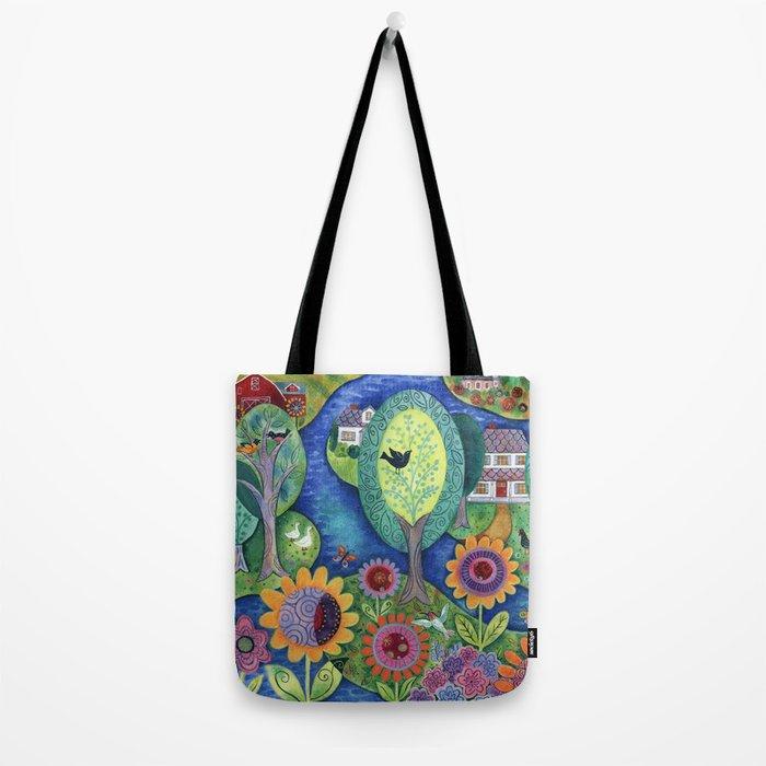 Summer Calling Tote Bag