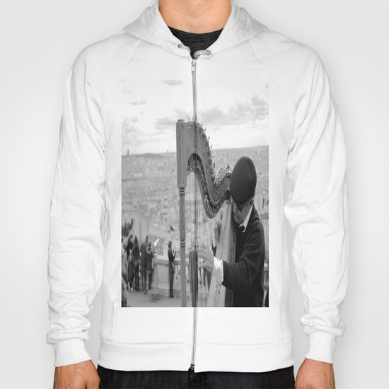 His Music Floats Down to Paris Hoody