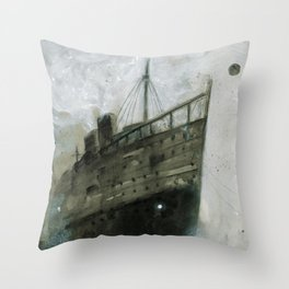 The Upper Berth Throw Pillow