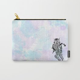 Owl Tribal Carry-All Pouch