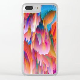 Pieces of Scorched Earth Raining Down Clear iPhone Case