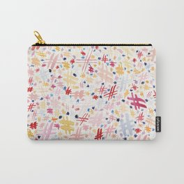 hashtag pattern Carry-All Pouch