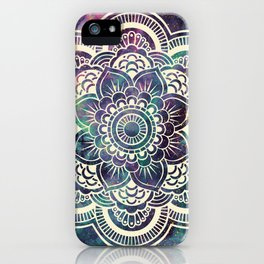 Galaxy Mandala : Deep Pastels iPhone Case