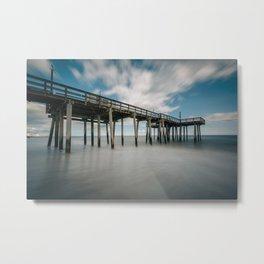 The Fishing Pier No. 3 Metal Print