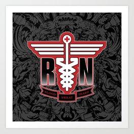 Registered Nurse Art Print