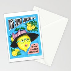 MISS SUNNY CITRONELLA Stationery Cards