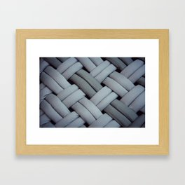 Oh, braid! Framed Art Print