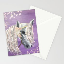Pretty Horse Painting Stationery Cards