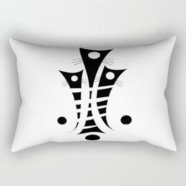 Catemissius - artistic cats Rectangular Pillow