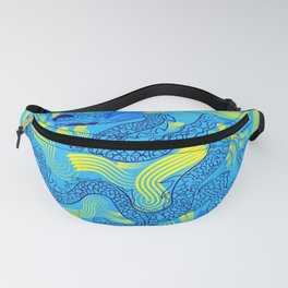 Chinese dragon on ceramic Fanny Pack