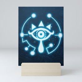 The blue eye Mini Art Print