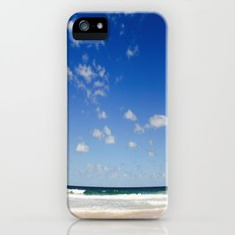 The Silence of waves iPhone Case
