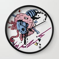 law Wall Clocks featuring LAW by bartd