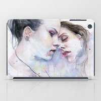 the xx iPad Cases featuring xx Love by agnes-cecile