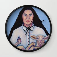 marina Wall Clocks featuring Marina by Kristina Gufo