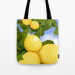 Lemons For Days Tote Bag