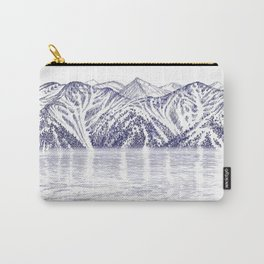 TURNAGAIN ARM AND THE CHUGACH RANGE ON THE COOK INLET ALASKA Carry-All Pouch