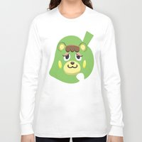 animal crossing Long Sleeve T-shirts featuring Animal Crossing Charlise by ZiggyPasta