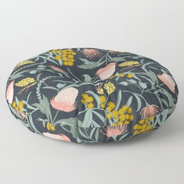 Flora Australis Floor Pillow