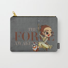 Rey The Force Awakens Carry-All Pouch