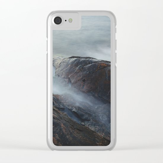 Creatures of the sea Clear iPhone Case