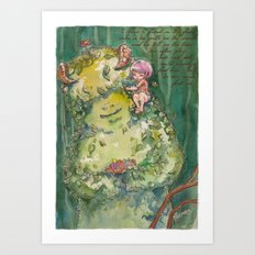 My Forest Friend Art Print