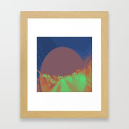 Psychedelica Chroma XII Framed Art Print