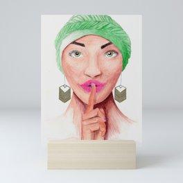 Sshhh... Mini Art Print