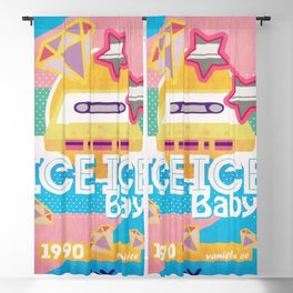 Ice Ice Baby Blackout Curtain
