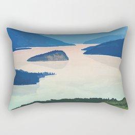 Shuswap Lake Provincial Park Rectangular Pillow