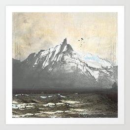 Sea.Mountains.Light. ii. Art Print