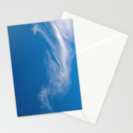 Seahorse cloud formation Stationery Cards