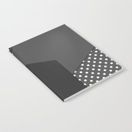 Grey abstract abstract Notebook
