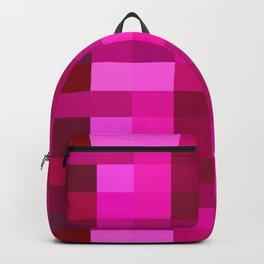 Pink Mosaic Backpack