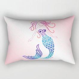 Tribal Mermaid Rectangular Pillow