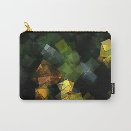 square fantasy autumn colors Carry-All Pouch