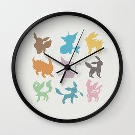 Eeveelution Wall Clock