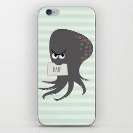 Squid of Contempt iPhone Skin