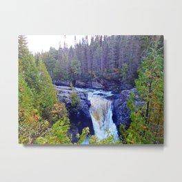 Ste-Anne Waterfalls Metal Print
