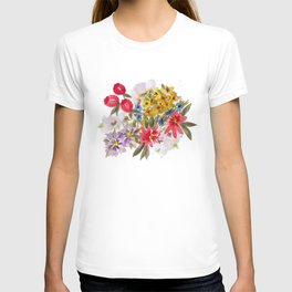 Farmers Market Bouquet 1 T-shirt