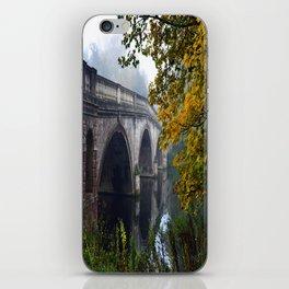 The Bridge At Clumber Park iPhone Skin