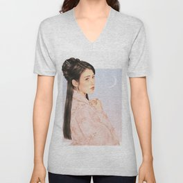 in bloom [iu lee jieun] Unisex V-Neck