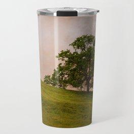 Tree On The Hill Travel Mug