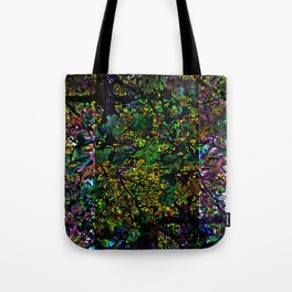 Sunday 8 September 2013: Crushed onto manifold excessive repetitive charms. Tote Bag